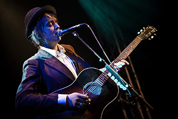 Photo Pete Doherty en concert